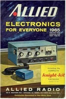 1965 Allied Radio catalog with Knightkit catalog