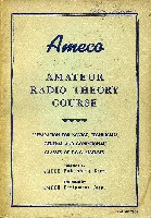 Amateur Radio Theory Course, Ameco, 1963