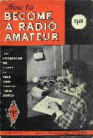 How to Become a Radio Amateur, ARRL 1964