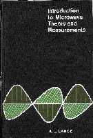 Introduction to Microwave Theory and Measurement,McGraw-Hill 1964