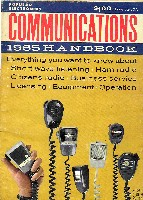 Popular Electronics Communications 1965 Handbook