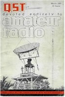 ARRL QST magazine for March 1965 - The W4HHK antenna issue!
