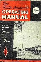 The Radio Amateurs Operating Manual, first edition, ARRL 1966