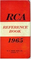 1965 RCA Pocket Reference - lots of tube data plus