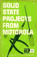 Solid State Projects from Motorola, 1964