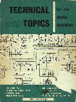 Technical Topics for the Radio Amateur, RSGB 1965