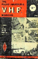 The Radio Amateur's VHF Manual, ARRL 1965