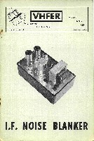 "VHFer, November 1965 - W4HHK article ""Butler crystal oscillator witth variable capacitance diode tuning"""