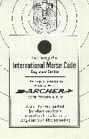 Archer International Morse Code Course