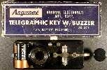 Argonne Electronics Mfg AR-323 Telegraphic Key w/Buzzer (package variant)