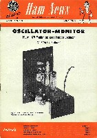 Oscillator-Monitor construction, GE Ham News, March-April 1952