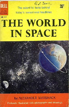 The World in Space, Marshack, Dell 1958